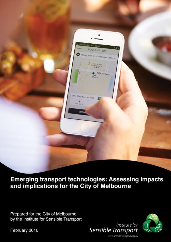 CoM Emerging Technology Report Cover