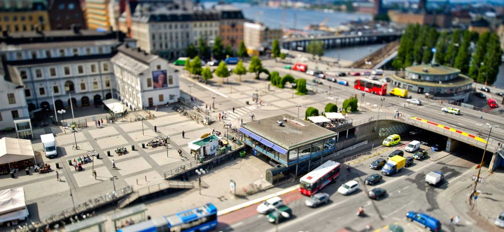 Miniature-traffic-in-Stockholm