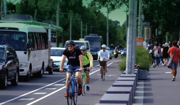 Bike Network Model: Inner Melbourne Case Study